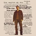 Dean Winchester quotes - red by Amberdreams