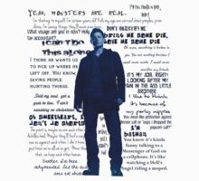 Dean Winchester quotes - blue Kids Clothes
