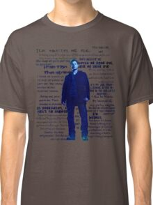 Dean Winchester quotes - blue Classic T-Shirt