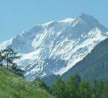 """White Mountain""  Champoussin, Switzerland by Anita  Fletcher"