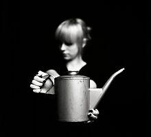 Zoe with can by Tony Kearney