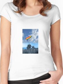 Pride Marine iPhone Case Women's Fitted Scoop T-Shirt