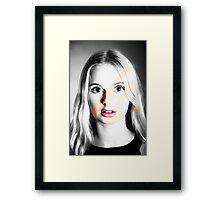 Color me crasy Framed Print