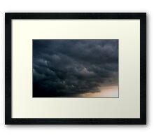 Storm Line Framed Print