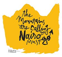 The Mountains Are Calling and Nairo Must Go  by finnllow