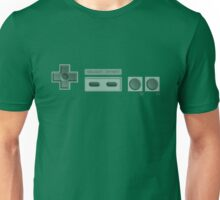 NES Buttons (Transparent) Unisex T-Shirt