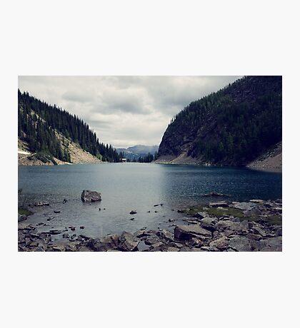Lake Agnes Photographic Print