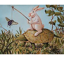 Tortoise and the Hare Photographic Print