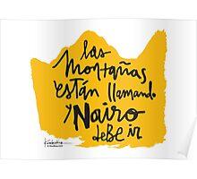 Las Montanas Estan Llamando y Nairo Debe ir / The Mountains Are Calling and Nairo Must Go (Spanish) Poster