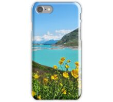 Buttercups at the Bernina Pass - Graubünden - Switzerland iPhone Case/Skin