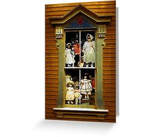 Dollhouse Gothic Greeting Card