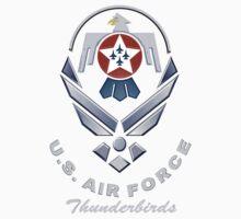 Thunderbirds Logo for Dark Colors One Piece - Short Sleeve
