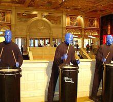 BLUE MAN GROUP - Las Vegas by ctheworld