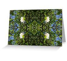 Kaleidoscope - Tree Series Magnolia Greeting Card