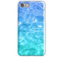 pool water iPhone Case/Skin