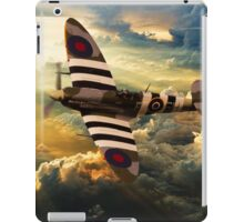 bbmf spitfire iPad Case/Skin