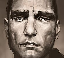 Vinne Jones by Nigel Silcock