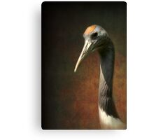 Noble and immortal - the Japanese Crane Canvas Print