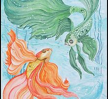 Betta Dance by Sandra Gale