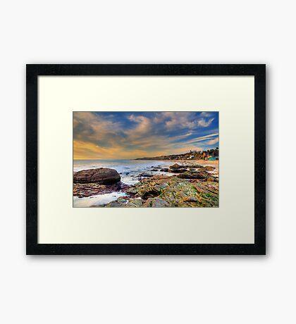 Beach Odyssey Framed Print