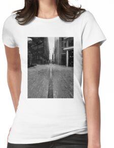 London Enbankment Buildings Womens Fitted T-Shirt