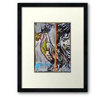 Mick and Rooster Framed Print