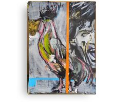 Mick and Rooster Metal Print