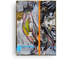 Mick and Rooster Canvas Print