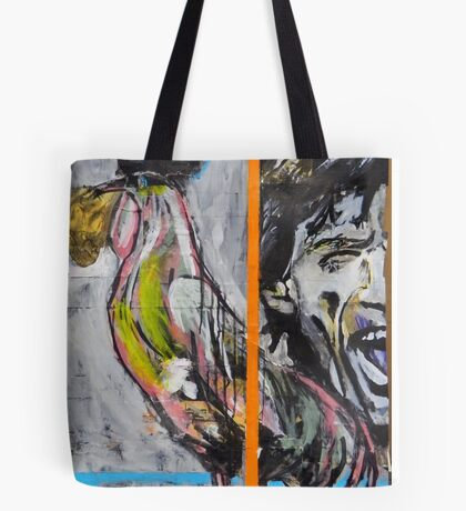 Mick and Rooster Tote Bag