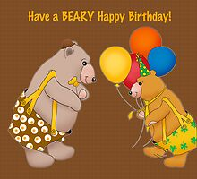 Have a Beary Happy Birthday! by graphicdoodles