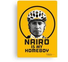 Nairo is My Homeboy : TDF Yellow Canvas Print