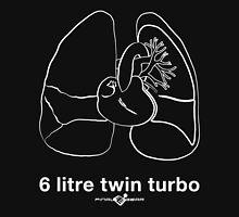 Six Litre Twin Turbo (dark shirt) Unisex T-Shirt