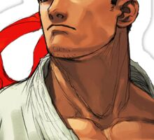 3rd Strike Ryu Portrait Sticker