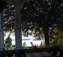 View from the porch by Catrin Stahl-Szarka