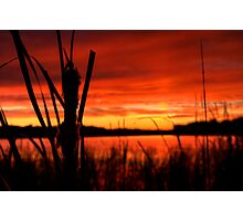 Sunset in Michigan 4 Photographic Print
