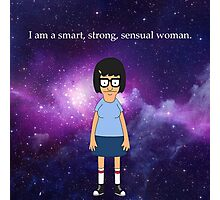 Tina Belcher Galaxy Photographic Print