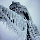 Winter Lighthouse at St. Joseph, Michigan 2 by Chad Ely