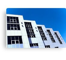 Appearance office building Canvas Print