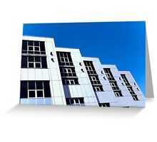 Appearance office building Greeting Card