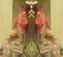jumper mirror merge spooky by H J Field