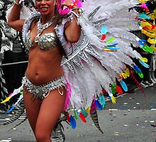 In Full Bloom - Nottinghill Carnival by Victoria limerick