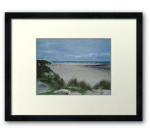 Port Marsh Strand Framed Print