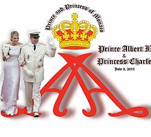 Prince Albert and Princess Charlene by Yapsalot