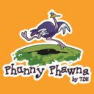 Phunny Phawna - Ostrich by thedrawinghands