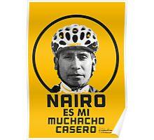 Nairo es mi muchacho casero / Nairo is My Homeboy (Spanish) : TDF Yellow Poster