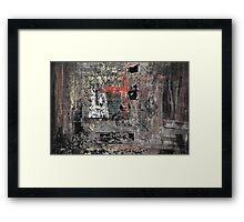 horus negatives Framed Print