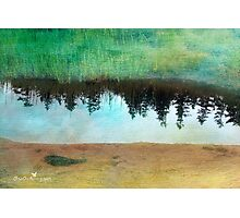 Reflection on canvas Photographic Print