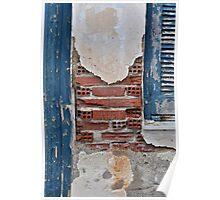 Wall, Door and Window Poster