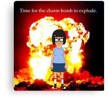 Tina Belcher Charm Bomb Canvas Print