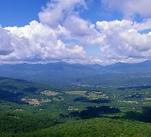 The Long View From A Short Hike - Stowe, VT by PASpencer